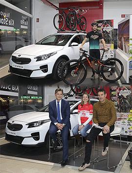 Automoción Cano Kia acoge la presentación de la Challenge BTT Maratón Diputació de Castelló
