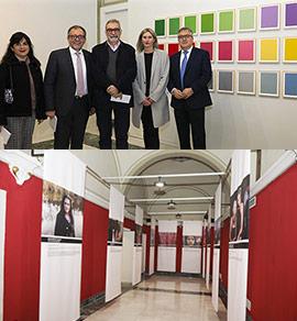 Inauguración de las exposiciones de invierno en la Fundación Caja Castellón