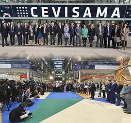 Inauguración de la Feria Internacional de la Cerámica, Cevisama