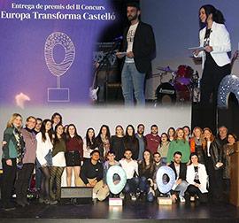 Entrega de premios del concurso Europa Transforma Castelló
