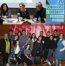 Inauguración de las 20 Jornades de Disseny en la EASD de Castelló
