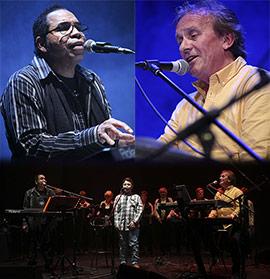Público multicultural para el concierto de Bosko & Anthony