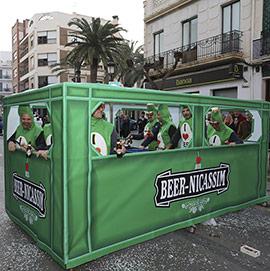 Gran desfile de disfraces en el Carnaval de Benicàssim