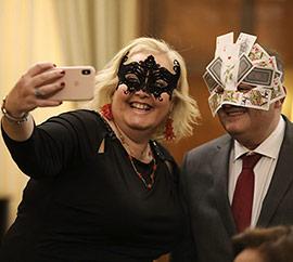 Cena y baile de máscaras en el Real Casino Antiguo de Castellón