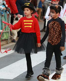 Desfile infantil del Carnaval del Grau de Castelló