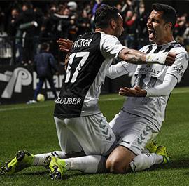 Lapeña: ´Marcar el gol de la victoria es una alegría inmensa´