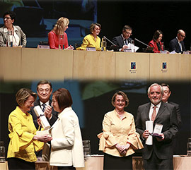 Conmemoración del XXIX aniversario de la Universitat Jaume I