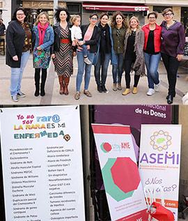 Celebración en Castelló del Día Mundial de las Enfermedades Raras