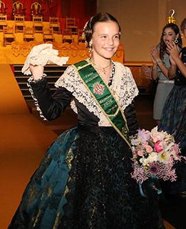 Galania a la reina infantil Gal.la Calvo Santolaria