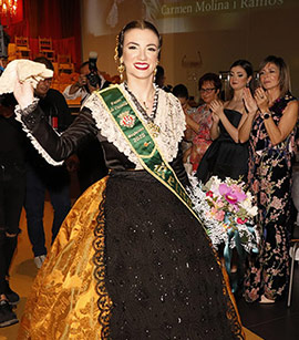 Galania a la reina Carmen Molina Ramos