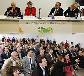 Inauguración de la nueva sede de la Asociación Española Contra el Cáncer, AECC