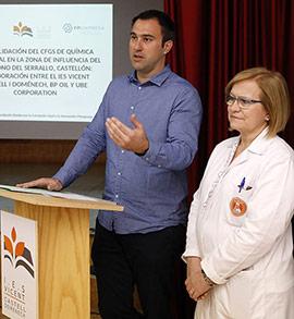 Presentación del proyecto Dualiza en el IES Vicent Castell