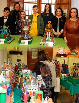 Inauguración de la exposición XVII Concurso de Maquetas Escolares