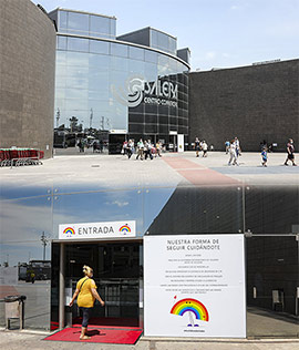 Reapertura del Centro Comercial Salera