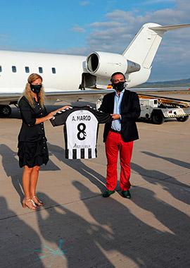 Presentación de la nueva camiseta oficial del CD Castellón