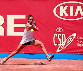 Semifinales del torneo de la Liga MAPFRE de Tenis Femenina de la RFET