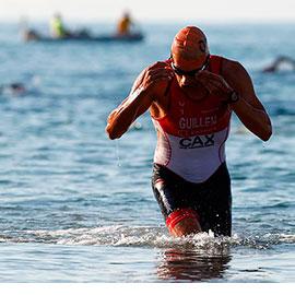 Miguel Fuentes se proclama campeón del Triatlón Sprint de Oropesa