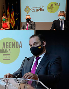 Castelló firma el protocolo con el Ministerio para ser referente en el desarrollo de la Agenda Urbana