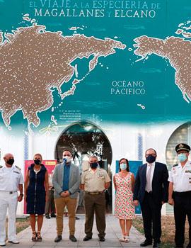 Inauguración de la exposición ´´El viaje a la Especiería de Magallanes y Elcano´´