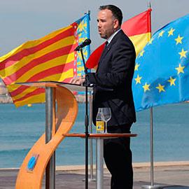Acto de toma de posesión del presidente de la Autoridad Portuaria de Castellón, Rafa Simó