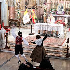 Fiesta de la Virgen del Pilar en la Basílica de Lledó