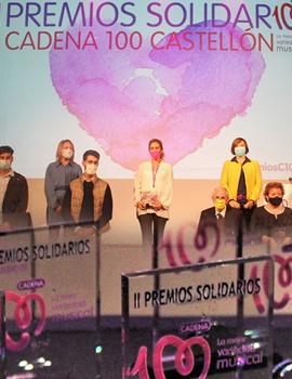 Cadena 100 Castellón entrega sus segundos Premios Solidarios