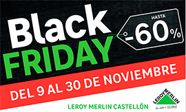 Descuentos Black Friday en Leroy Merlin