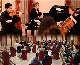 Concierto del trío de cuerda con piano, Ensemble Gregal