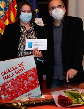 L´escriptor d´Alginet Xavier Vidal ha guanyat el Premi de Narrativa Breu ´´Josep Pascual Tirado´´ amb l´obra ´´Catàleg de mala gent´´