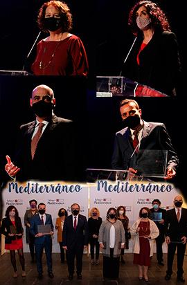 Gala entrega de premios Letras del Mediterráneo 2020