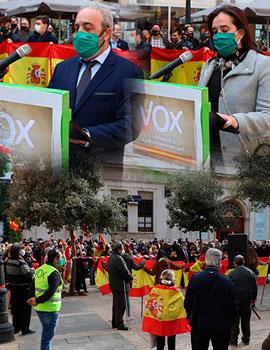 Acto de VOX en Castellón con motivo del aniversario de la Constitución