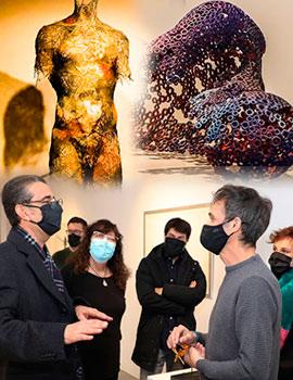 Inauguración de la exposición ´´Poéticas de la fragilidad´´ en Benicàssim