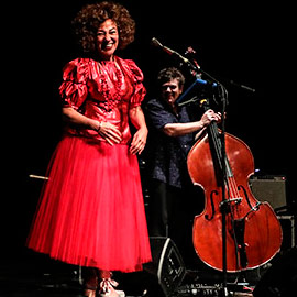El jazz portugués de Maria João junto a Carlos Bica en Benicàssim