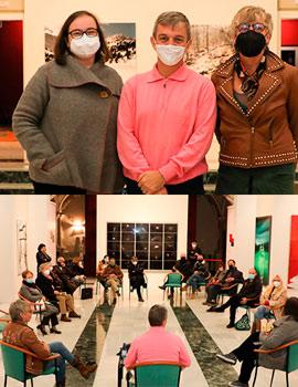 Tarde de encuentro con las artistas Pamen Pereira y Pilar Beltran en la Sala San Miguel