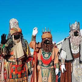 Recorrido de los Reyes Magos por Castelló