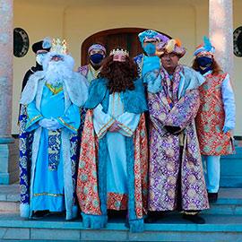 La Caravana de los Reyes Magos por Benicàssim