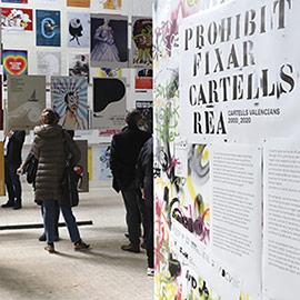 Inauguración de la exposición PROHIBIT FIXAR CARTELLS REA
