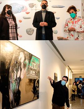Inauguración de la exposición 'Lo Visible' en el Melchor Zapata de Benicàssim