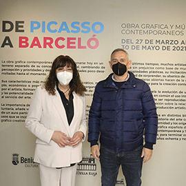 De Picasso a Barceló, obra gráfica y múltiples contemporáneos en Benicàssim