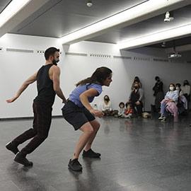 Laika, espectáculo de danza contemporánea, de Isabel Vázquez