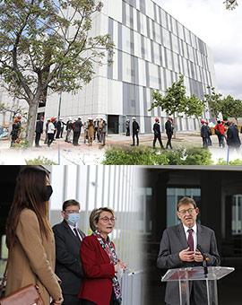 La UJI inicia el tramo final de las obras de la Facultad de Ciencias de la Salud