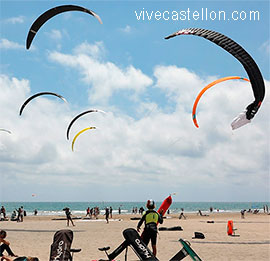 El Hotel del Golf Playa con la Cutty Shark Formula Kite