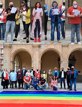 Manifiesto por el Día Internacional Contra la LGTBIfòbia en Castelló