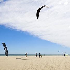 La Diputación respaldó la competición de kitesurf Fórmula Kites Spain en su paso por Castellón