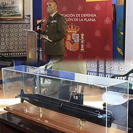 Inauguración de la exposición histórica ´Más de cien años del Arma Submarina Española´