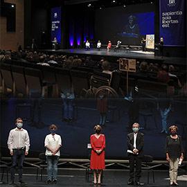 La UJI entrega los premios del Consejo Social a la Excelencia Docente Universitaria y a la Investigación