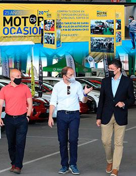 Motorocasión Castellón 2021 arranca con la visita del concejal de Innovación Comercial de Castellón