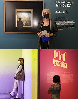 Presentación de dos exposiciones en la Fundación Caja Castellón