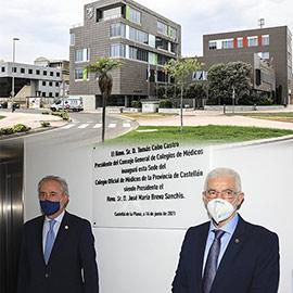 Inauguración de la nueva sede del Colegio de Médicos de Castellón