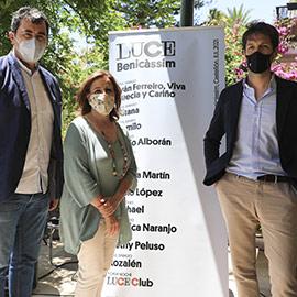 Presentación del festival Luce Benicàssim